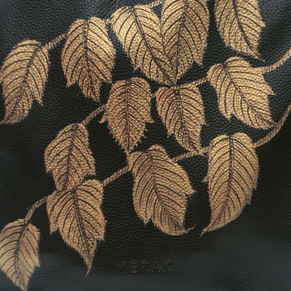 The Leaves, Black Backpack