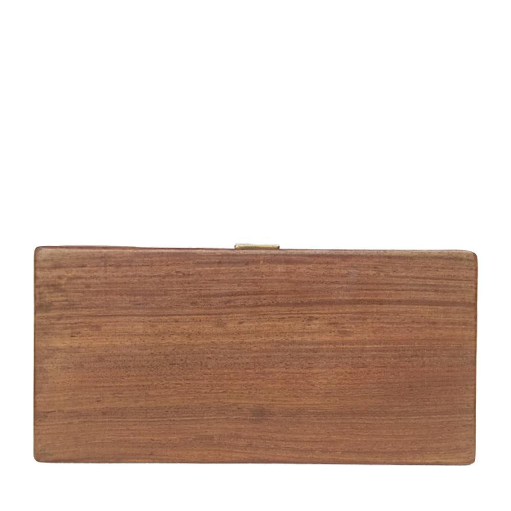 The Fish, Rectangle wood clutch