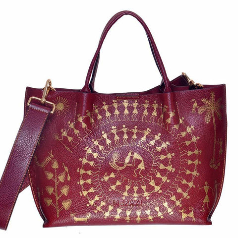 Circle of Life, Maroon Tote