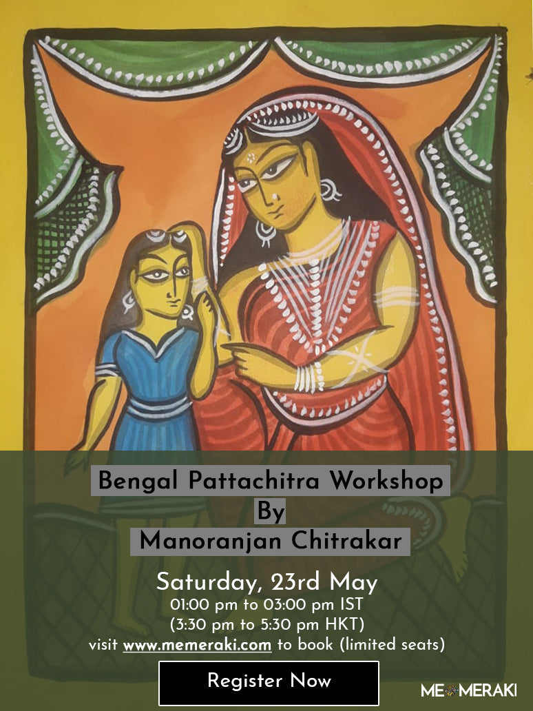 23RD MAY: ONLINE BENGAL PATTACHITRA ART WORKSHOP WITH MANORANJAN CHITRAKAR
