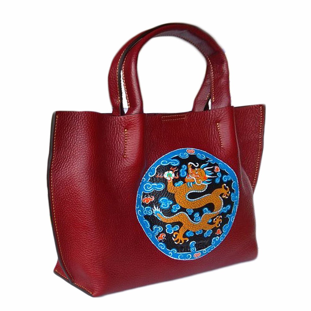 Where be Dragons, Maroon Tote