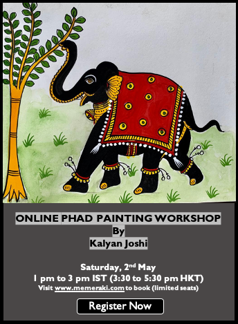 2nd May: Online Phad Painting Workshop by Kalyan Joshi