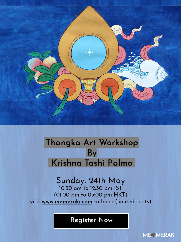 24th MAY: ONLINE THANGKA ART WORKSHOP WITH KRISHNA TASHI PALMO