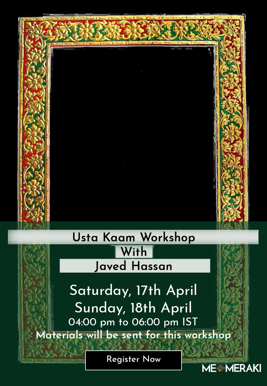 Buy Recording: ONLINE USTA KAAM WORKSHOP WITH JAVED HASSAN (with materials)