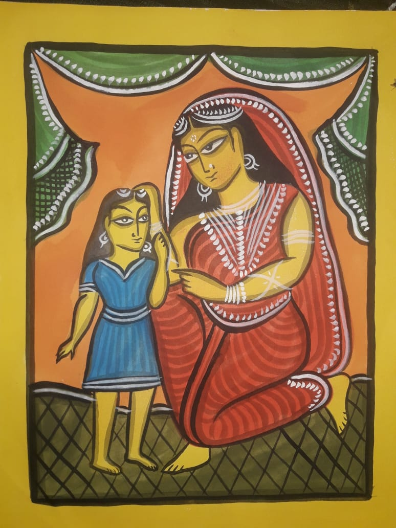 9TH MAY: ONLINE PATUA PAINTING WORKSHOP BY MANORANJAN CHITRAKAR