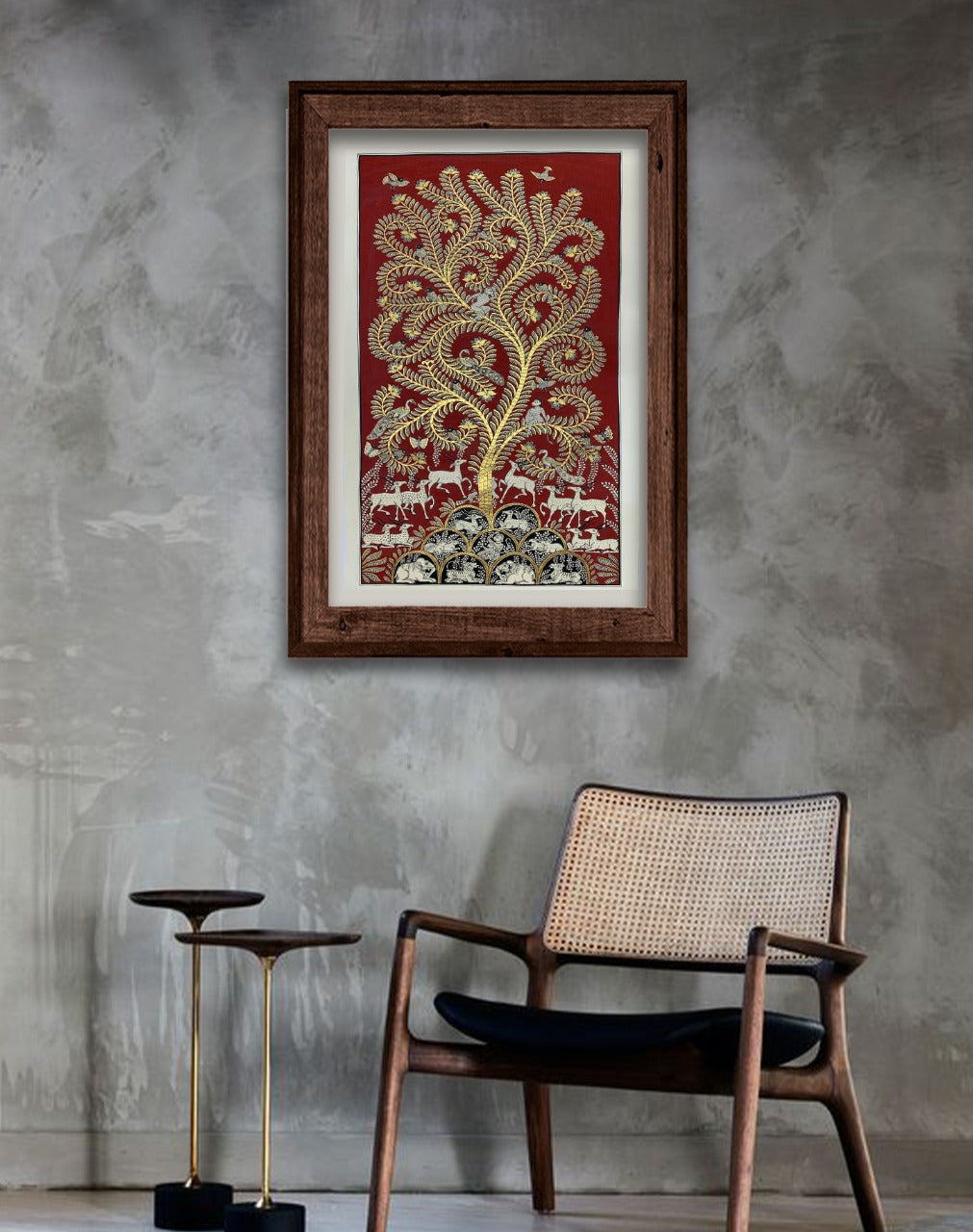 Tree of Life, Phad painting by Kalyan Joshi