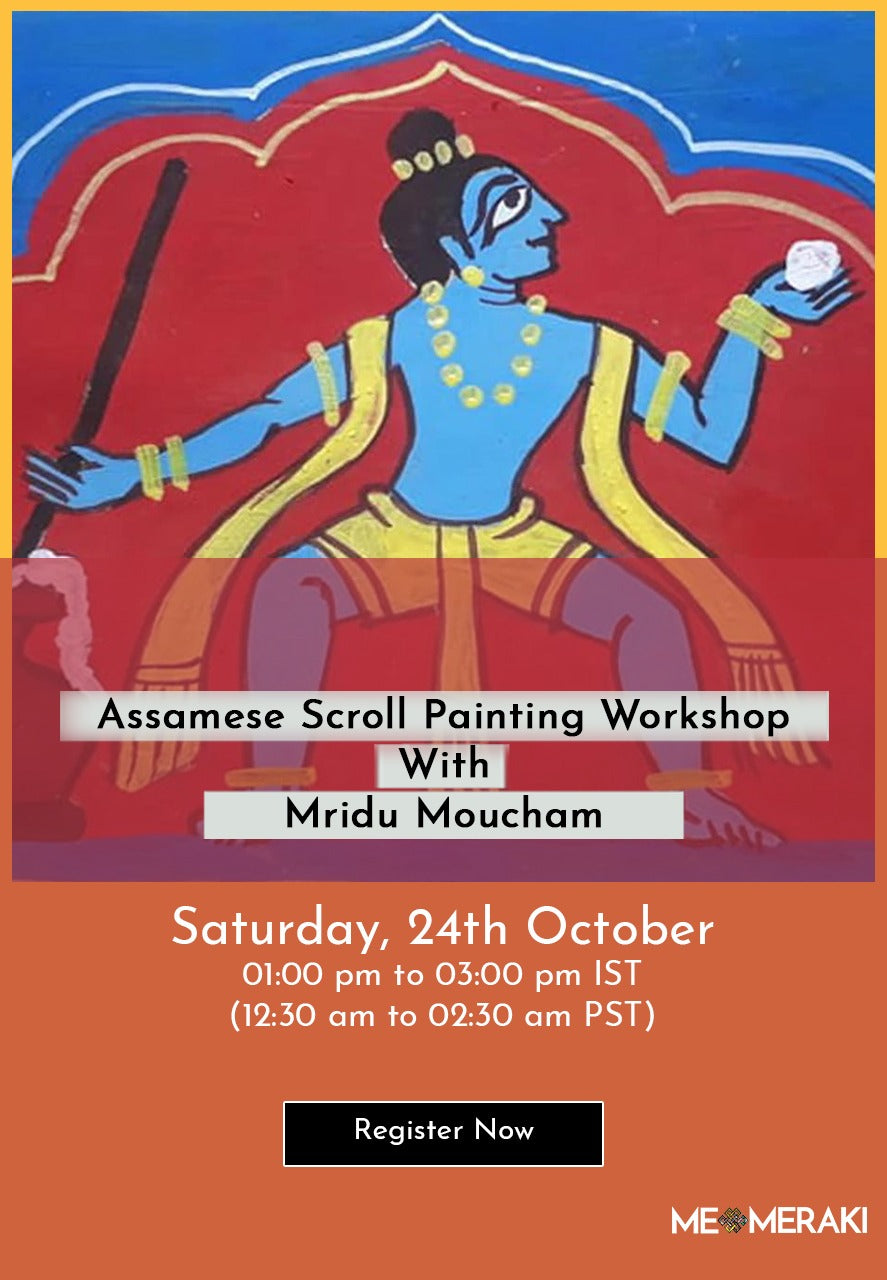 BUY RECORDING: ONLINE ASSAMESE MANUSCRIPT WORKSHOP WITH MRIDU MOUCHAM