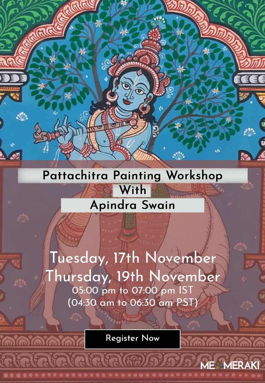 Buy Recording: ONLINE PATTACHITRA PAINTING WORKSHOP WITH APINDRA SWAIN