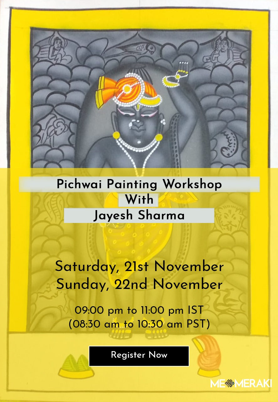 Buy Recording: ONLINE PICHWAI ART WORKSHOP BY JAYESH SHARMA