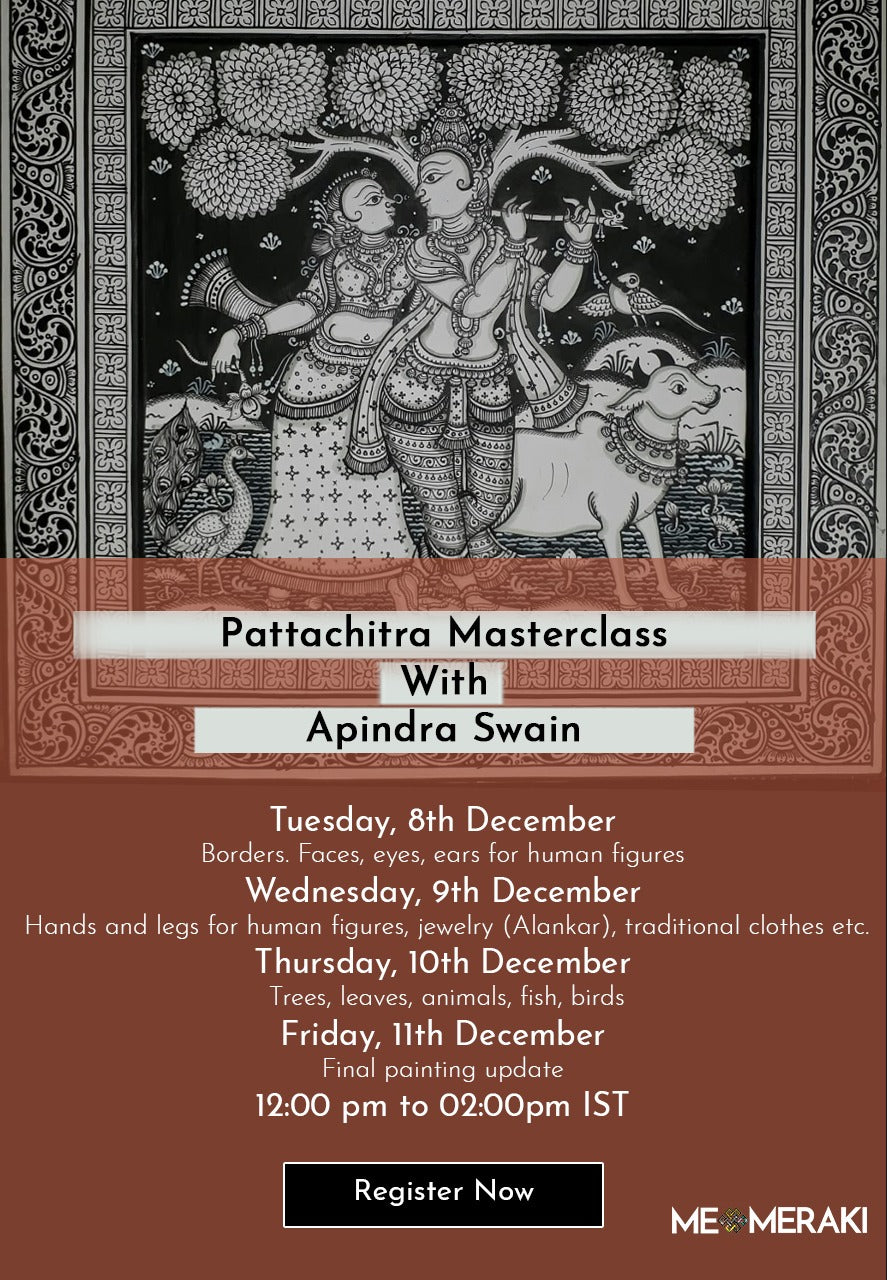BUY RECORDING: ONLINE PATTACHITRA MASTERCLASS WITH APINDRA SWAIN