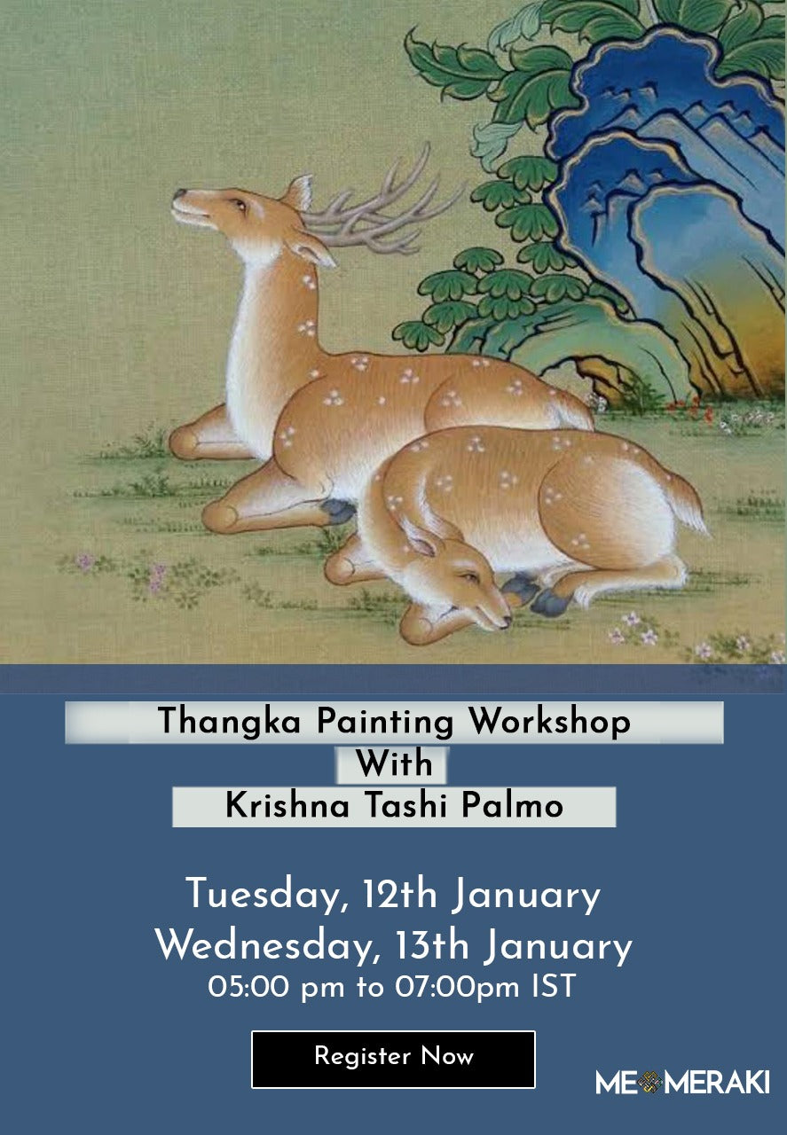 BUY RECORDING: ONLINE THANGKA ART WORKSHOP BY KRISHNA TASHI PALMO