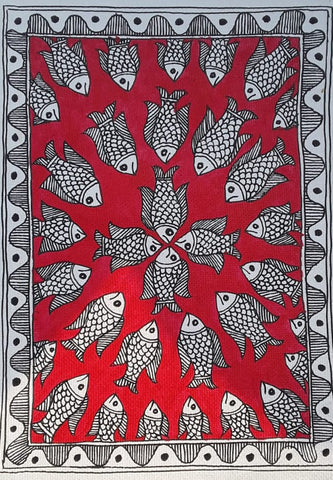 BUY RECORDING: ONLINE MADHUBANI ART WORKSHOP BY PRATIMA BHARTI