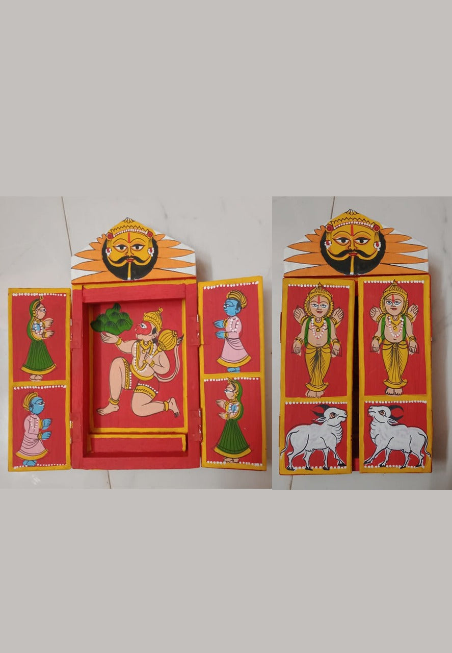 23rd and 24th JANUARY: LIVE ONLINE Paint your own KAVAD WORKSHOP BY SATYANARAYAN , MATERIALS INCLUDED