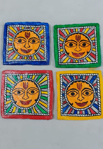 31st Jan and 7th Feb: LIVE ONLINE Madhubani Paper Mache WITH Priti Karn – MATERIALS INCLUDED