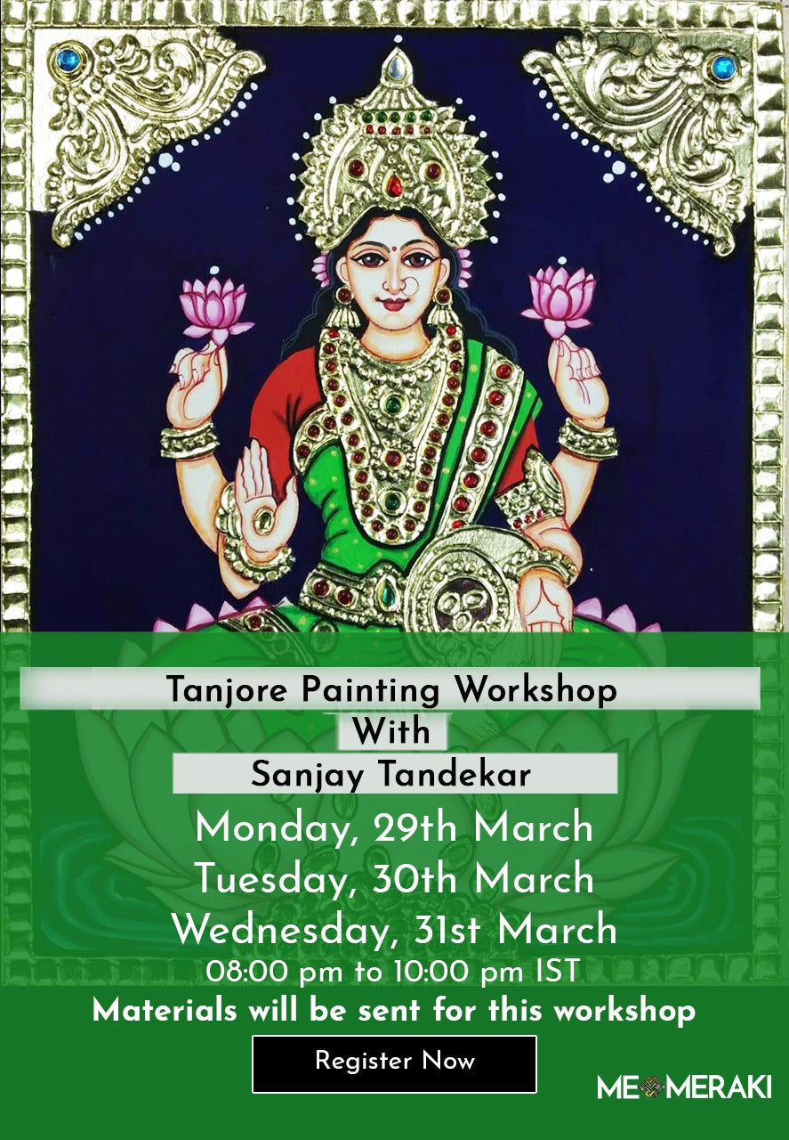 Buy Recording : ONLINE  TANJORE WORKSHOP WITH SANJAY TANDEKAR