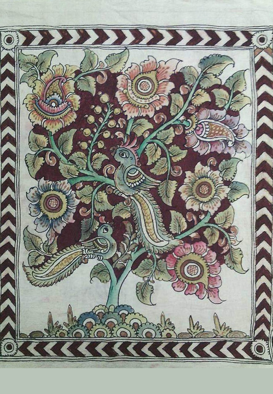 1,2,3,4 April: ONLINE KALAMKARI WORKSHOP with SUDHEER (With Materials)