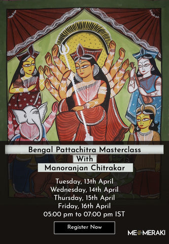 Buy Recording: ONLINE Mata Ni Pachedi WORKSHOP BY Dilip Chittara