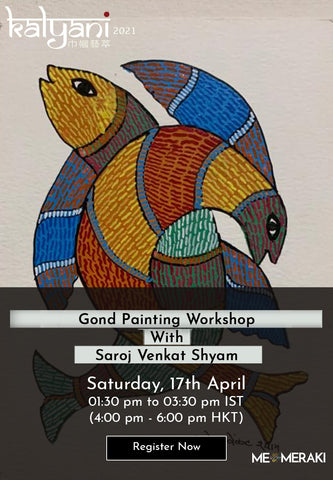 16th, 17th,18th April: LIVE ONLINE TANJORE WORKSHOP WITH SANJAY TANDEKAR (With Materials)
