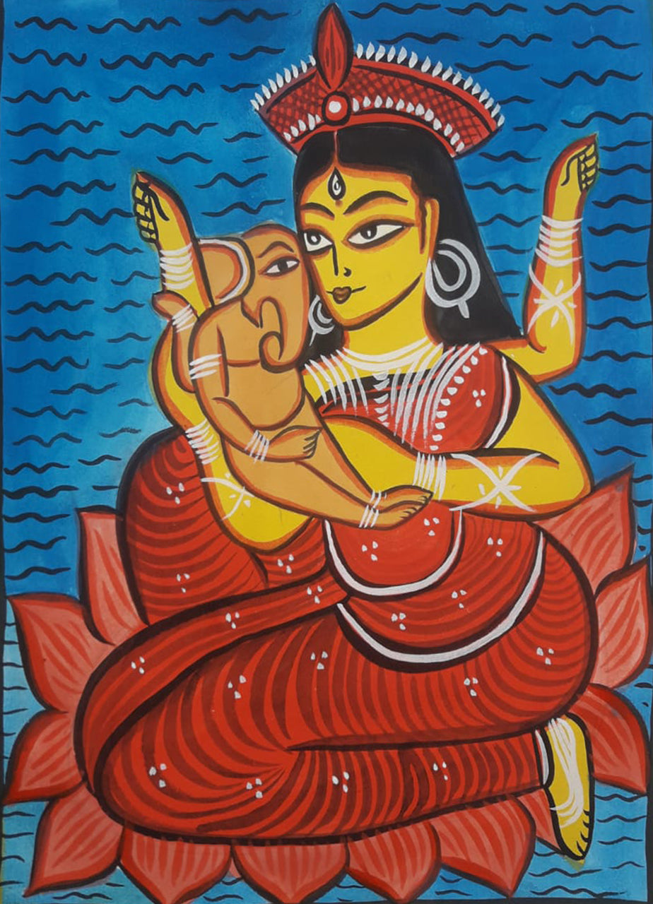 BUY RECORDING: ONLINE BENGAL PATTACHITRA WORKSHOP WITH MANORANJAN CHITRAKAR