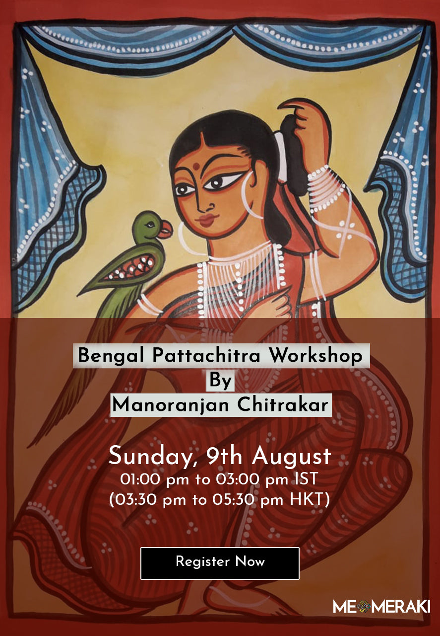 9TH AUGUST: ONLINE BENGAL PATTACHITRA WORKSHOP BY MANORANJAN CHITRAKAR