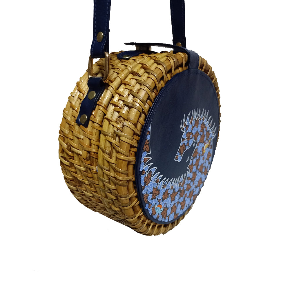 The High Horse, BLUE ROUND CANE SLING