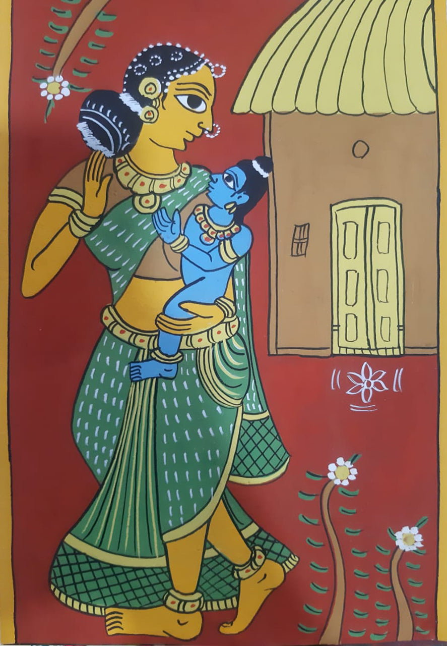 9th May: LIVE ONLINE CHERIYAL SCROLL PAINTING WORKSHOP BY SAI KIRAN (Mother's Day Special)