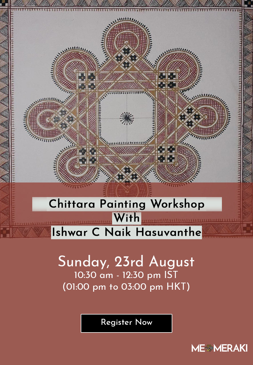 BUY RECORDING: ONLINE CHITTARA PAINTING WORKSHOP WITH ISHWAR C. NAIK HASUVANTHE