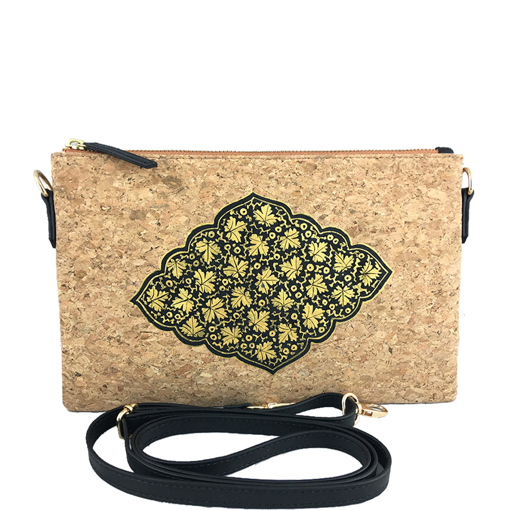 Gold Chinar on Natural Vegan Cork Sling