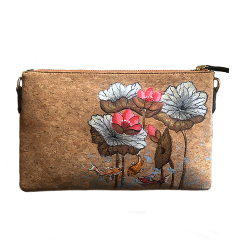 Be like Lotus, Natural Vegan Cork Sling