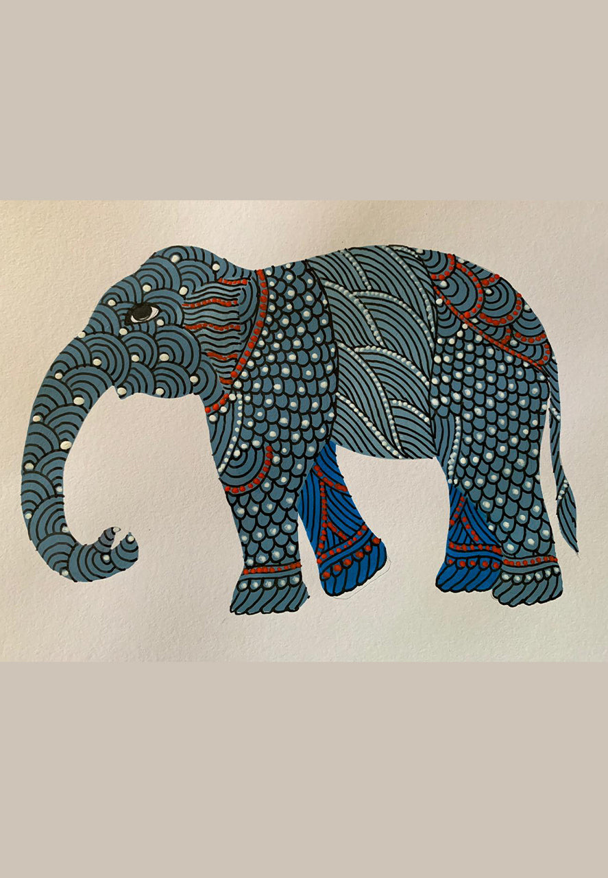 25TH JULY: ONLINE GOND ART WORKSHOP BY VENKAT SHYAM