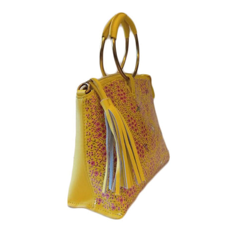 Tree of Life, Yellow Wristlet