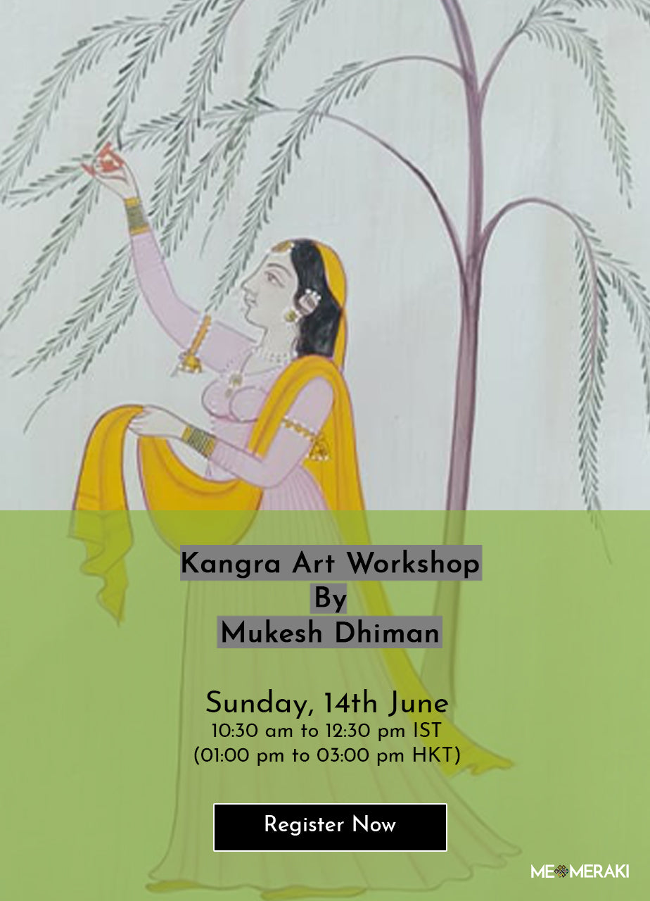 14TH JUNE: ONLINE KANGRA ART WORKSHOP BY MUKESH DHIMAN