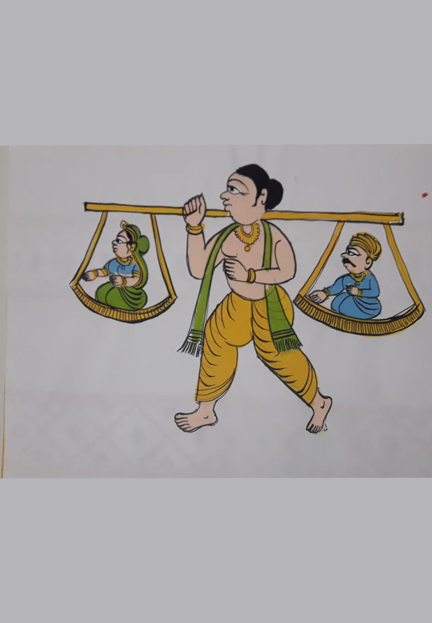11TH OCTOBER : ONLINE KAVAD PAINTING WORKSHOP WITH SATYANARAYAN
