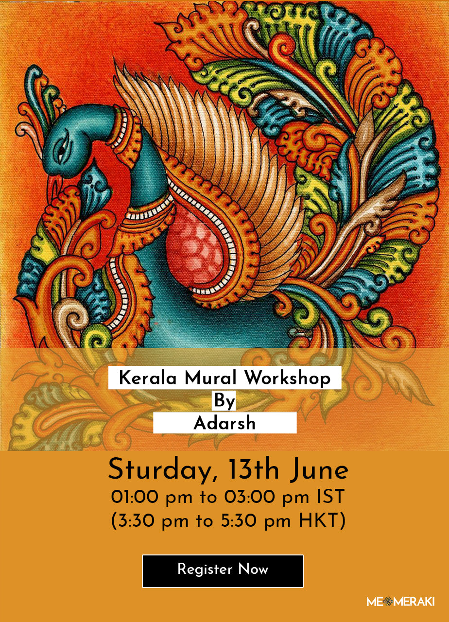 13TH JUNE: ONLINE KERELA MURAL WORKSHOP BY ADARSH