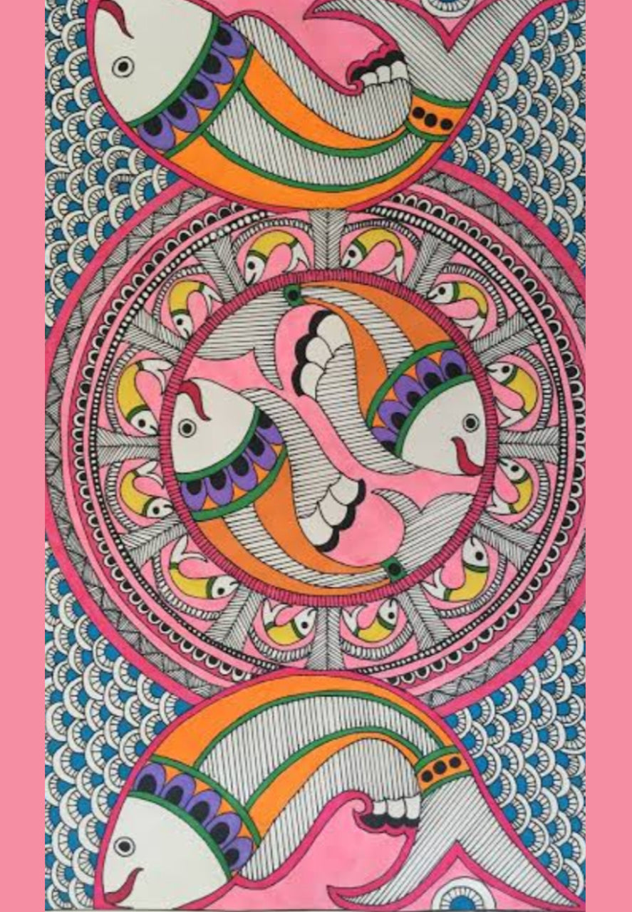 Buy Recording: ONLINE MADHUBANI ART WORKSHOP BY PRITI KARN