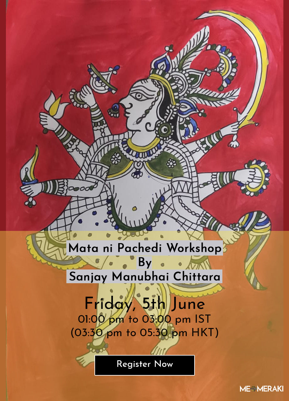5TH JUNE: MATA NI PACHEDI WORKSHOP WITH SANJAY MANUBHAI CHITTARA