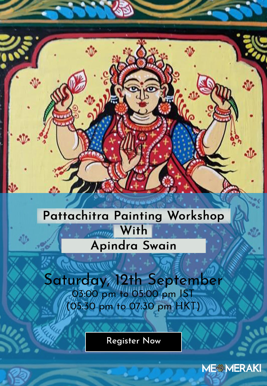 12TH SEPTEMBER: ONLINE PATTACHITRA PAINTING WORKSHOP WITH APINDRA SWAIN