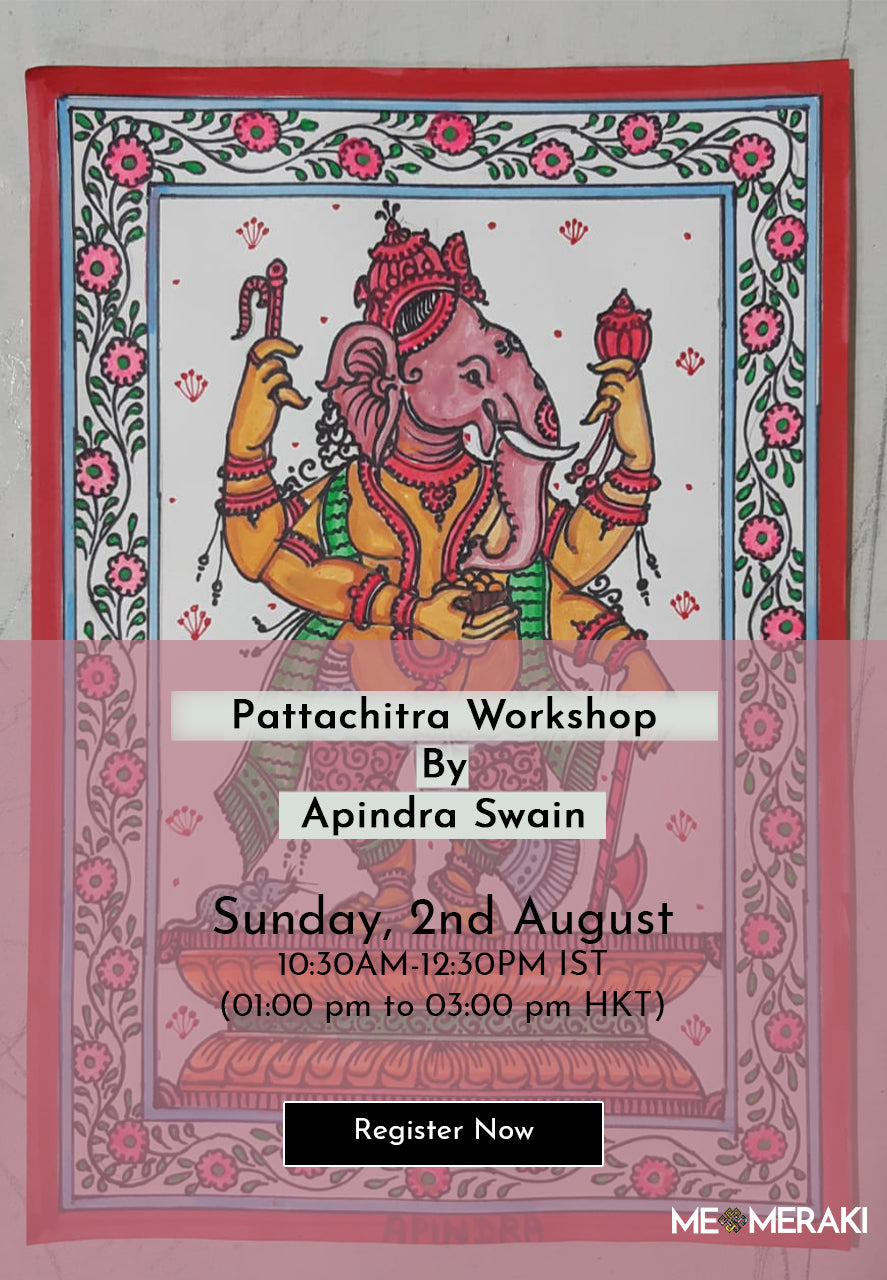 BUY RECORDING: ONLINE PATTACHITRA WORKSHOP WITH APINDRA SWAIN