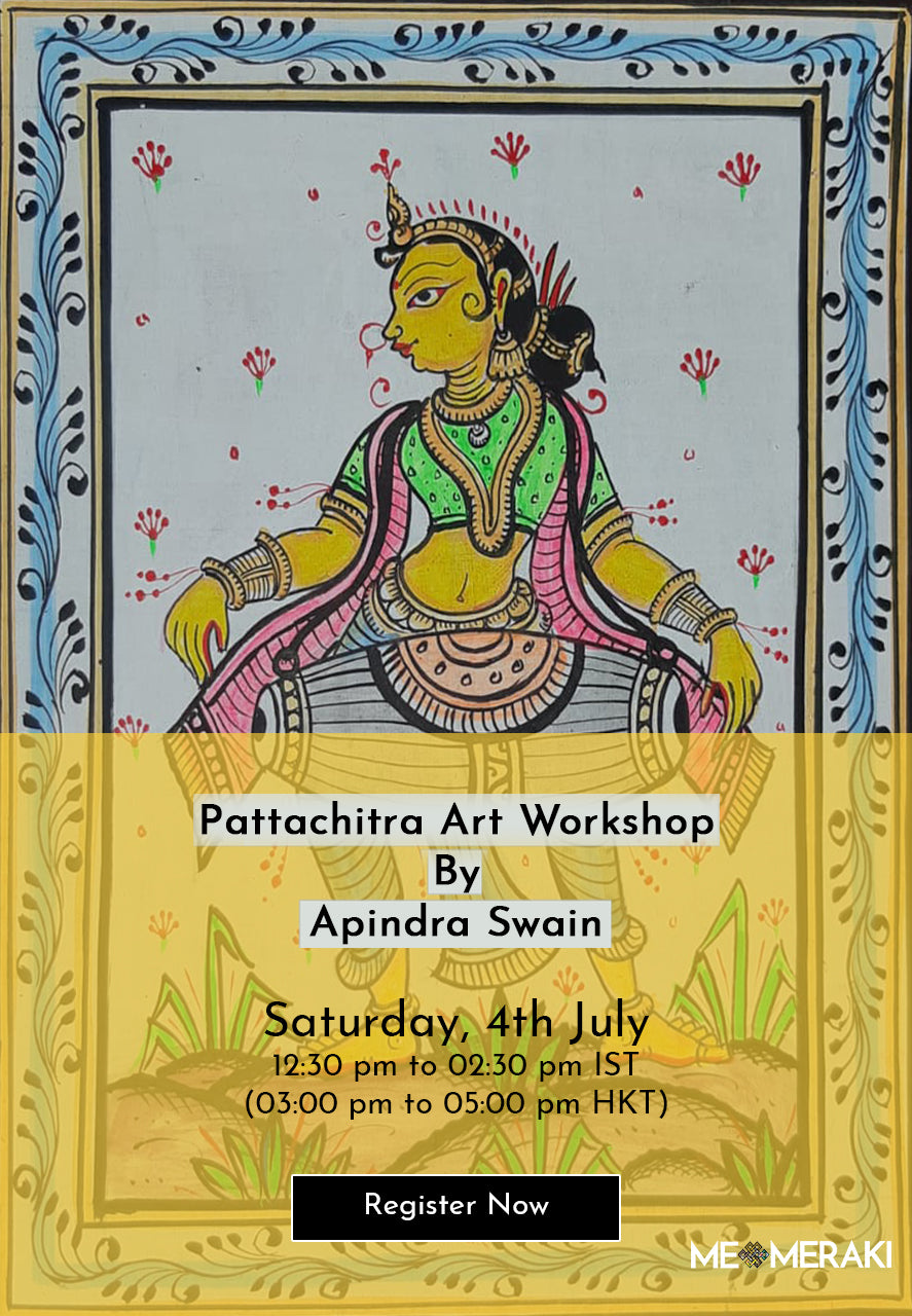 BUY RECORDING: ONLINE PATTACHITRA ART WORKSHOP WITH APINDRA SWAIN
