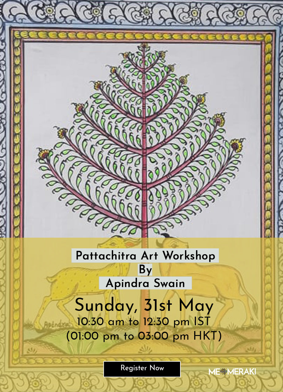 31ST MAY: ONLINE PATTACHITRA ART WORKSHOP BY APINDRA SWAIN
