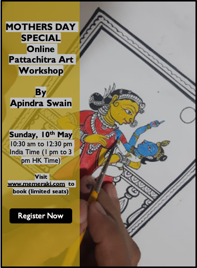 10TH MAY: ONLINE PATTACHITRA PAINTING WORKSHOP BY APINDRA SWAIN