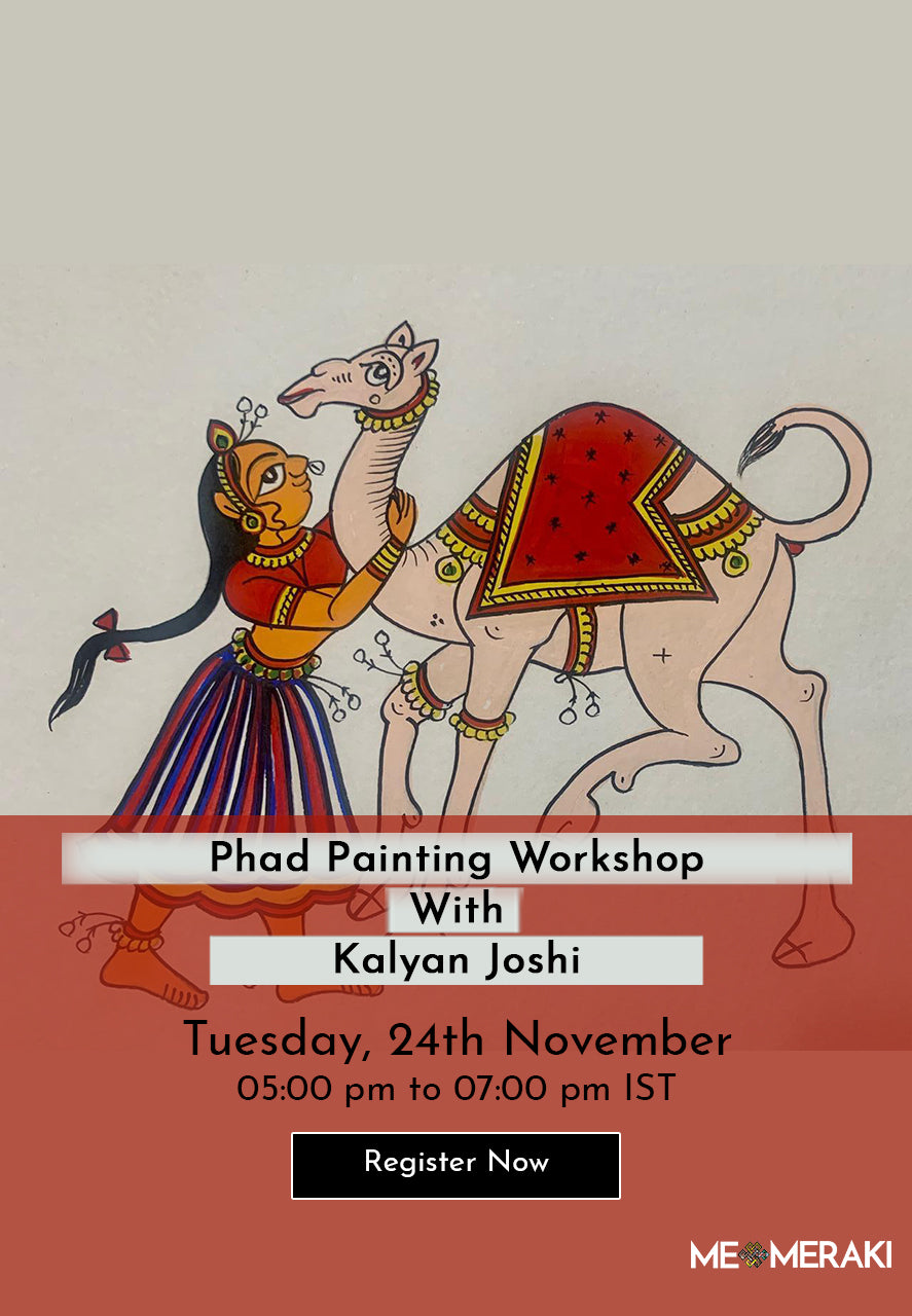 24th November: ONLINE PHAD PAINTING WORKSHOP WITH KALYAN JOSHI
