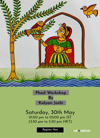 30TH MAY: ONLINE PHAD WORKSHOP WITH KALYAN JOSHI