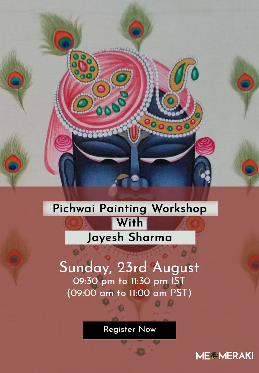 BUY RECORDING: ONLINE PICHWAI PAINTING WORKSHOP WITH JAYESH SHARMA