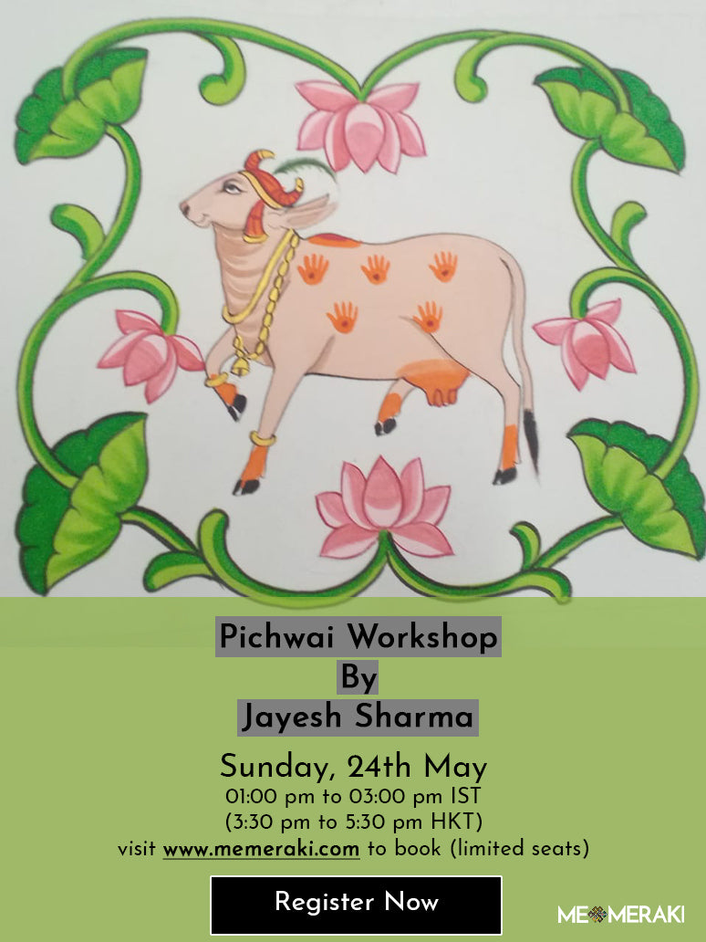 24TH MAY: ONLINE PICHWAI ART WORKSHOP WITH JAYESH SHARMA