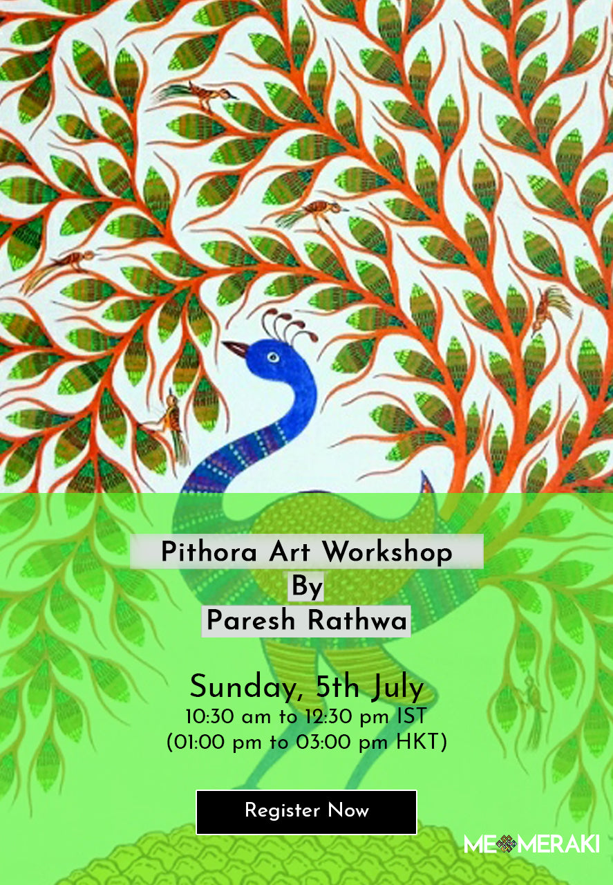 5TH JULY: ONLINE PITHORA ART WORKSHOP BY PARESH RATHWA