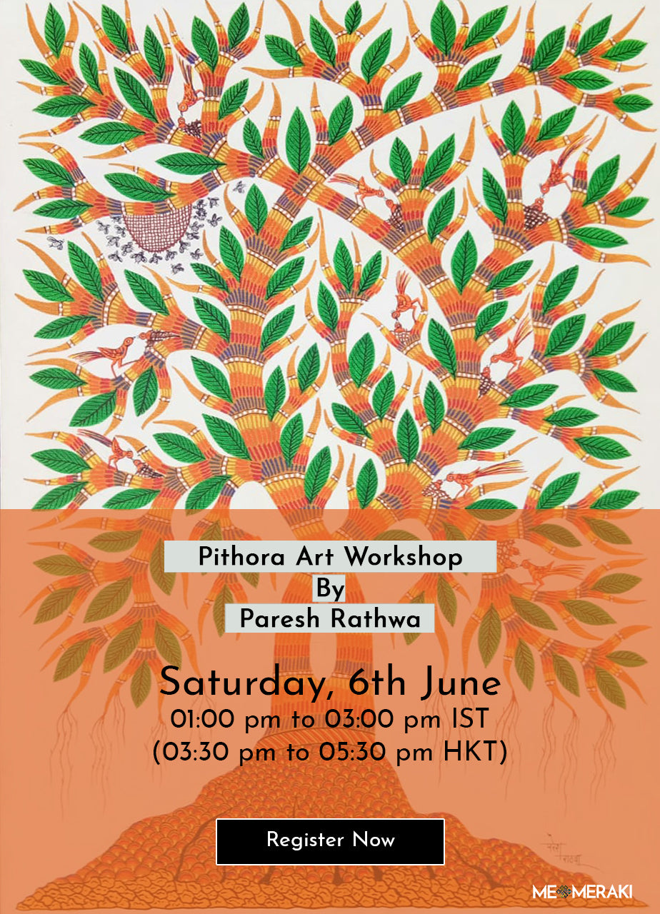 6TH JUNE: ONLINE PITHORA ART WORKSHOP WITH PARESH RATHWA