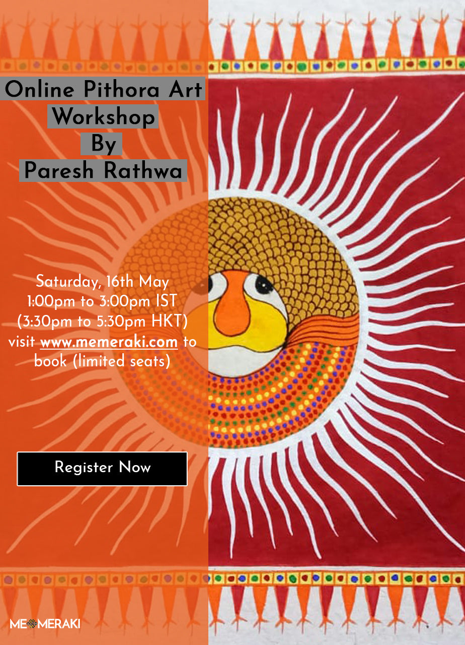 16TH MAY: ONLINE PITHORA ART WORKSHOP WITH PARESH RATHWA