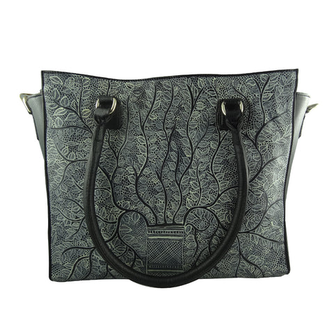BIRDS OF A FEATHER, BLACK SADDLE BAG