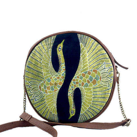Birds of a Feather, Navy Round Sling